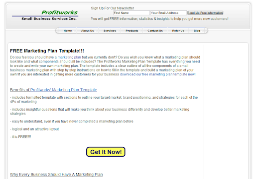 split testing buttons example