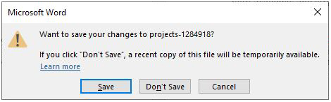 windows exit pop