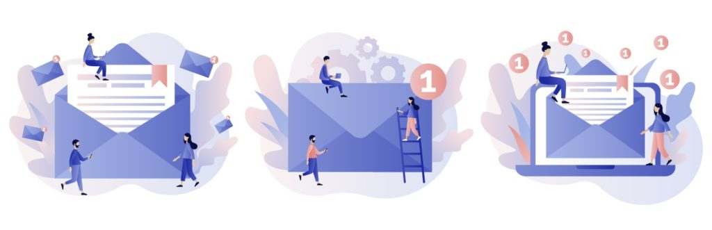 how an email works